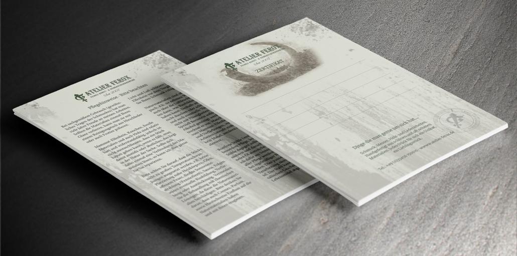 Urkunden Atelier Ferox - Wriezen