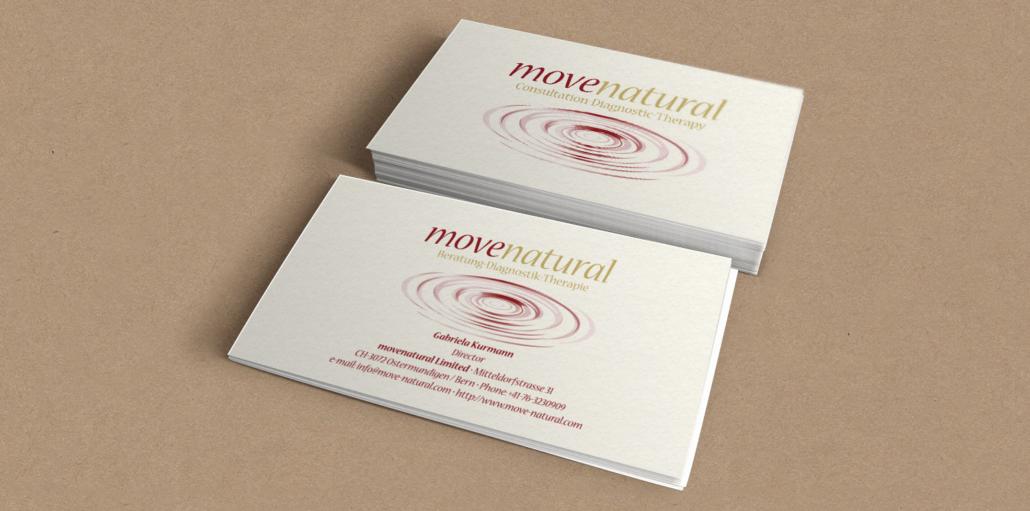 Visitenkarten Movenatural - CH
