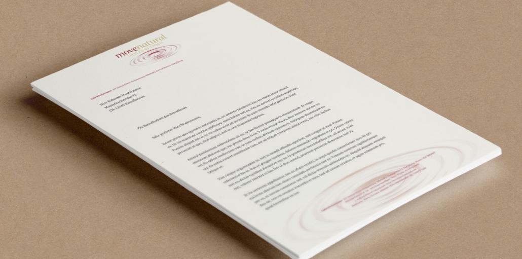 Briefpapier Movennatural - CH