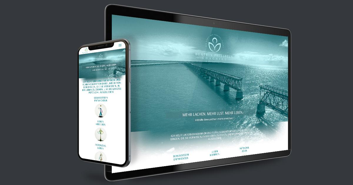 Website für Beatrix Philippin Coaching